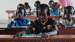 Can't Wait to Learn - tablet education in Uganda - War Child
