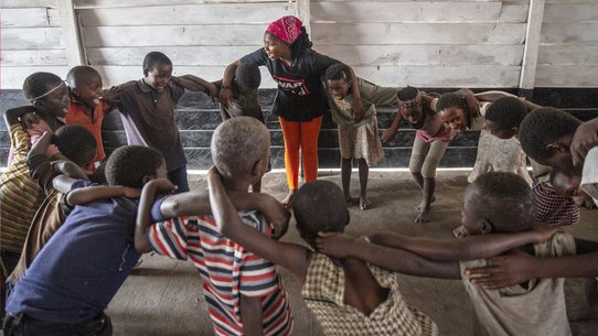 Psychosocial support for children in war is essential for them to build a better future thanks to War Child in DR Congo
