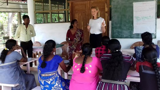 Community Case Detection Tool War Child Sri Lanka teachers and researcher Myrthe
