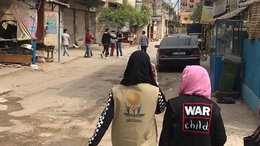 War Child helps distribute food packages in Lebanon during corona pandemic