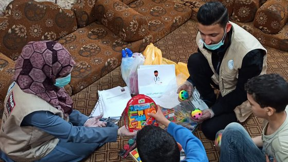 Covid-19 emergency kits to protect families in Gaza, occupied palestinian territory - War Child