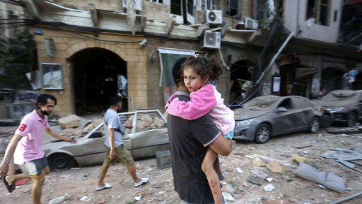 Explosions in Beirut, Lebanon leaves children and families vulnerable
