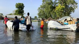 Torrential rains in South Sudan force thousands of people to flee and seek refugee_War Child