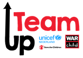 TeamUp logo partner War Child
