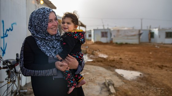 War Child supports families in Jordan refugee camps