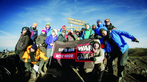 Climbing Mount Kilimanjaro with War Child - Kili-Challenge