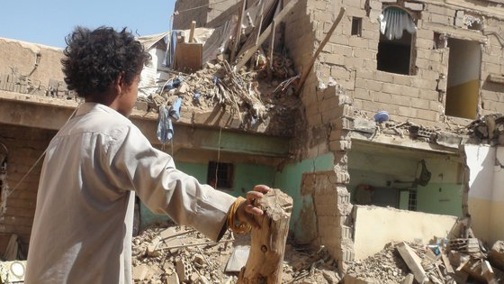 War Child UK in Yemen