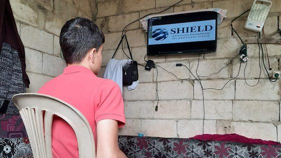 War Child provides Shield lessons for remote education in Lebanon