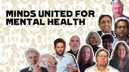 Minds United for Mental Health - overview portraits thought leaders - coronavirus response War Child