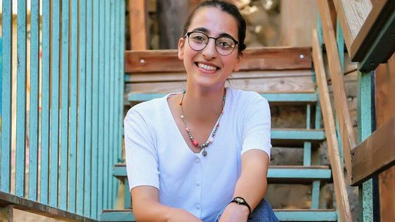 Girl Dalia from occupied Palestinian territory as Youth Ambassador for War Child