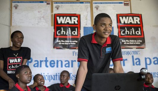 War Child DR Congo child parliament
